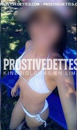 CLAUDIA UNA linda jovencita debuta en este distrito peruana atencion a uno  complaciente y estrecha